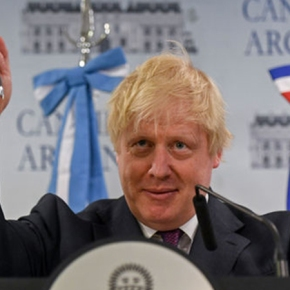 Boris de geldi